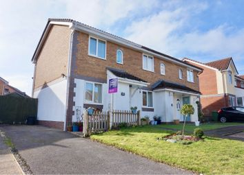 Thumbnail 3 bed end terrace house for sale in The Cornfields, Basingstoke