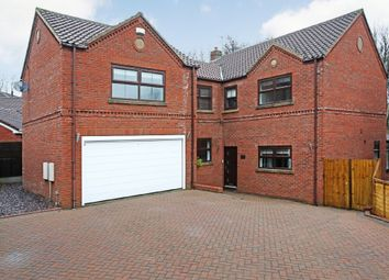 Thumbnail 5 bed detached house for sale in Roundwood Road, Ossett