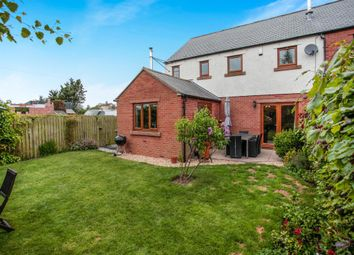 Thumbnail 4 bed semi-detached house for sale in Wheatsheaf Court, Abbeytown, Wigton, Cumbria