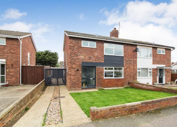 Thumbnail 3 bed semi-detached house for sale in Isis Road, Bedford