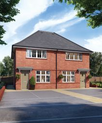 Thumbnail 2 bed semi-detached house for sale in Moorgate Drive, Astley