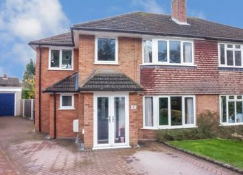 Thumbnail 4 bed semi-detached house for sale in Mountford Drive, Sutton Coldfield