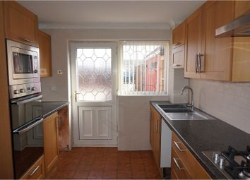 Thumbnail 3 bed terraced house for sale in Ponesfield Road, Lichfield