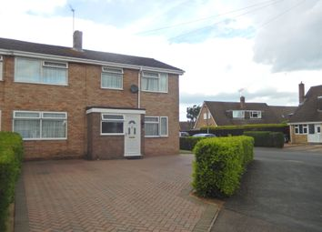 Thumbnail 5 bed semi-detached house for sale in Caryer Close, Orton Longueville, Peterborough