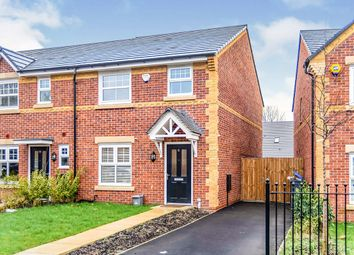 Thumbnail 3 bed end terrace house for sale in Horse Chestnut Drive, Manchester, Greater Manchester