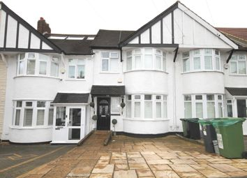 Thumbnail 3 bed terraced house to rent in Selworthy Road, London