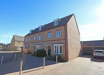 Thumbnail 4 bed end terrace house for sale in Woolpack Grange, Giffard Park, Milton Keynes