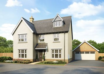 Thumbnail 5 bedroom detached house for sale in The Junipers At The Mulberries At Lodge Park, Hatfield Road, Witham, Essex