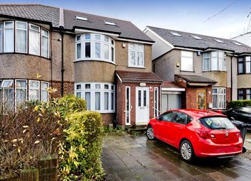 Thumbnail 4 bed semi-detached house for sale in Greenford Road, Greenford, Middlesex