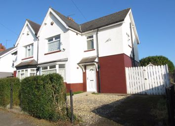 Thumbnail 3 bedroom semi-detached house to rent in Pencader Road, Ely, Cardiff