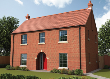 Thumbnail 4 bed detached house for sale in The Burrelton, Curtis Drive, Coningsby, Lincolnshire