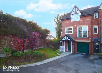Thumbnail 3 bed town house for sale in Firs Close, Gatley, Cheadle, Cheshire
