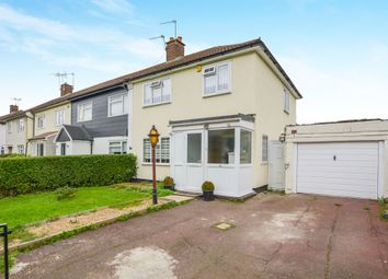 Thumbnail 3 bedroom end terrace house for sale in Wansford Park, Borehamwood