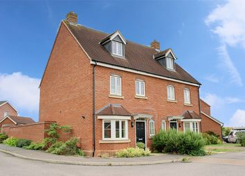Thumbnail 4 bedroom semi-detached house for sale in Bullrush Lane, Great Cambourne, Cambourne, Cambridge