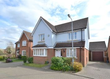 Thumbnail 4 bed detached house for sale in Blackthorn Road, South Wootton, King's Lynn