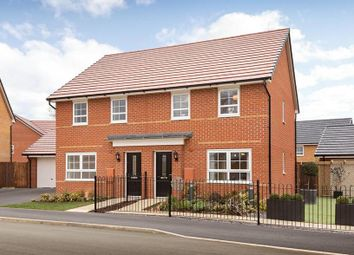 "Thumbnail 3 bed semi-detached house for sale in ""Maidstone"" at Tournament Court, Edgehill Drive, Chase Meadow Square, Warwick"