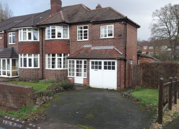 Thumbnail 3 bed semi-detached house for sale in Eachelhurst Road, Walmley, Sutton Coldfield