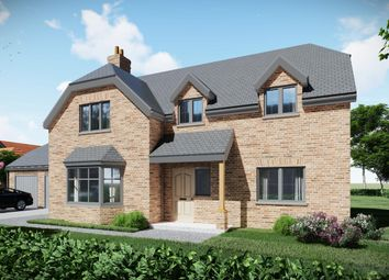 Thumbnail 5 bed detached house for sale in Plot 3, Highfields, Louth
