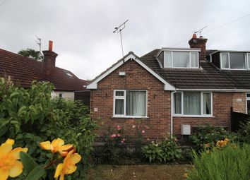 Thumbnail 3 bed semi-detached bungalow for sale in Ridgemere Road, Pensby, Wirral