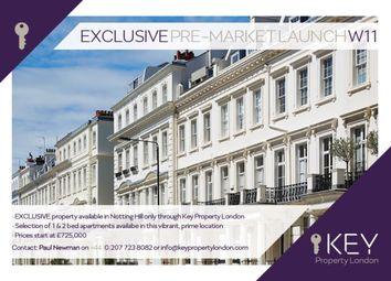 Thumbnail 1 bed flat for sale in Pembridge Crescent, London