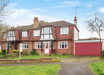 Thumbnail 3 bed semi-detached house for sale in Stag Leys, Ashtead