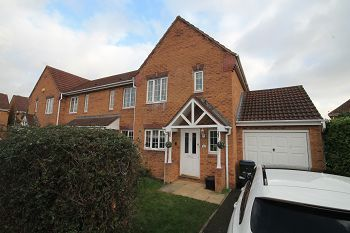 Thumbnail 3 bed semi-detached house to rent in Hilperton, Trowbridge
