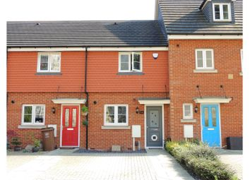 Thumbnail 2 bed terraced house for sale in Whitehead Drive, Rochester