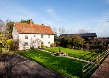 Thumbnail 4 bed detached house for sale in Hundon, Sudbury, Suffolk