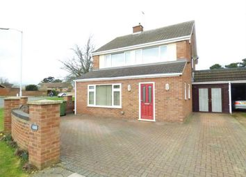 Thumbnail 3 bed detached house for sale in Atherstone Avenue, Peterborough, Cambridgeshire