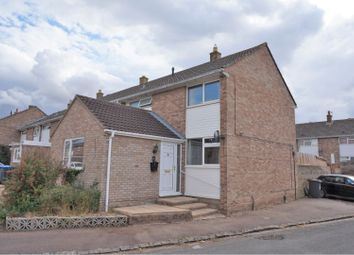 Thumbnail 4 bed end terrace house for sale in Hill View, Carterton