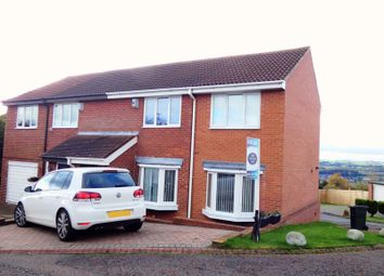 Thumbnail 3 bed semi-detached house for sale in South Fork, Newcastle Upon Tyne