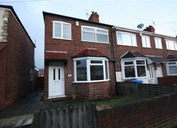 Thumbnail 3 bed terraced house to rent in Seagran Avenue, Hessle