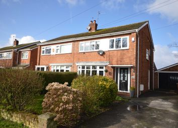 Thumbnail 3 bed semi-detached house for sale in Manor Road, Bromborough, Wirral