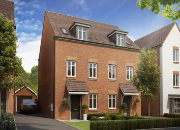 "Thumbnail 3 bed semi-detached house for sale in ""Greenwood"" at Samborne Drive, Wokingham"