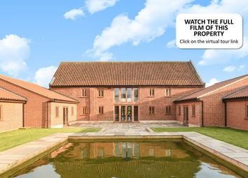 Thumbnail 8 bed barn conversion for sale in Neatherd Moor, Dereham