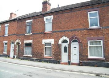 Thumbnail 2 bed terraced house for sale in South Street, Crewe, Cheshire