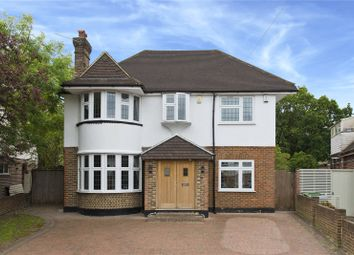Thumbnail 5 bed detached house for sale in Manor Drive, Esher, Surrey
