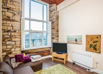 Thumbnail 2 bed flat for sale in Savile Street, Milnsbridge, Huddersfield