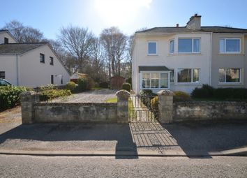 Thumbnail 3 bed semi-detached house for sale in Manse Road, Nairn