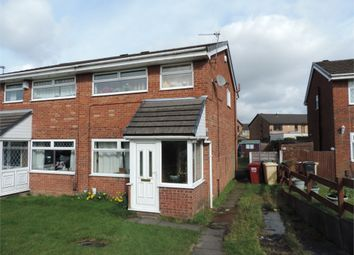 Thumbnail 3 bed semi-detached house for sale in Surrey Close, Little Lever, Bolton