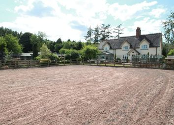 Thumbnail 4 bed farmhouse for sale in Hanchurch, Stoke-On-Trent