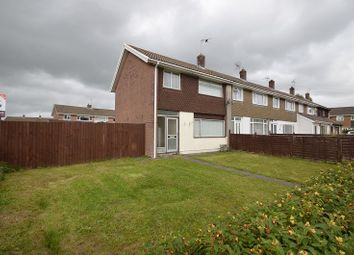 Thumbnail 3 bed end terrace house to rent in Shakespear Close, Caldicot, Newport
