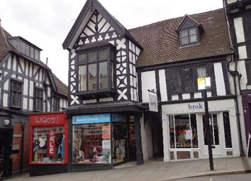 Thumbnail 1 bed flat to rent in Wyle Cop, Shrewsbury