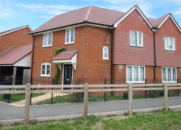 Thumbnail 3 bed semi-detached house for sale in Pengelly Gardens, Littlehampton, West Sussex