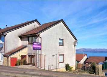 Thumbnail 2 bed end terrace house for sale in Luss Avenue, Greenock