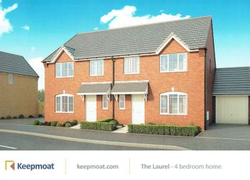 Thumbnail 4 bed semi-detached house for sale in Lower Hardwick Lane, Winslow, Bromyard