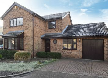 Thumbnail 4 bed detached house for sale in Cheltenham Close, Bedford