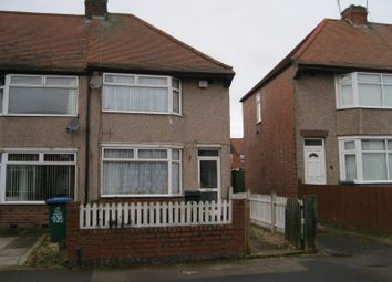 Thumbnail 2 bed end terrace house for sale in Telfer Road, Radford, Coventry