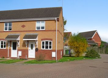 Thumbnail 2 bed end terrace house for sale in Willow Close, Worlingham, Beccles