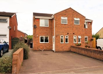 Thumbnail 3 bed semi-detached house for sale in High Street, Newcastle